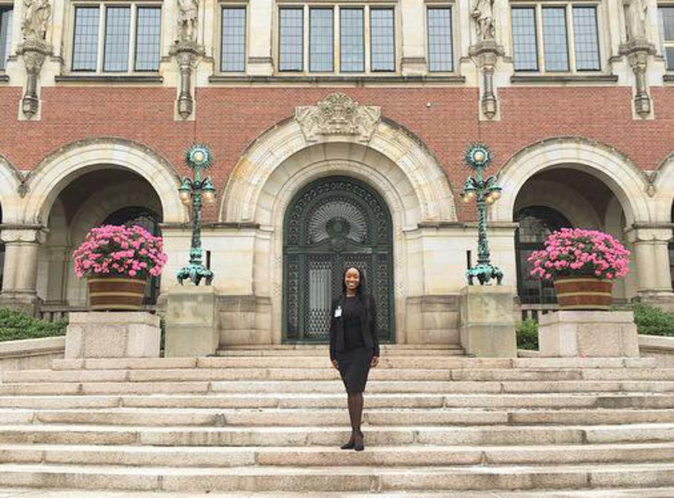 """Chaka Laguerre, an American lawyer working at the International Court of Justice in Dutch city The Hague, said she was """"brutalised, arrested and thrown into jail"""" after two officers stopped her over dangerous traffic behaviour"""
