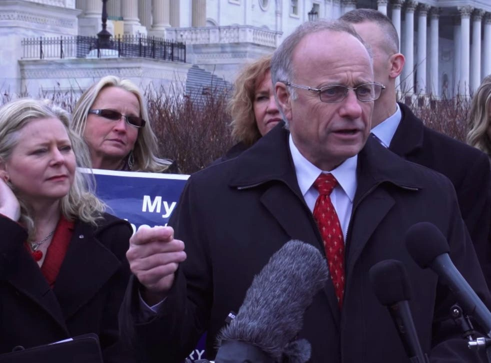 Steve King and the bill's co-author and anti-LGBT activist Janet Porter