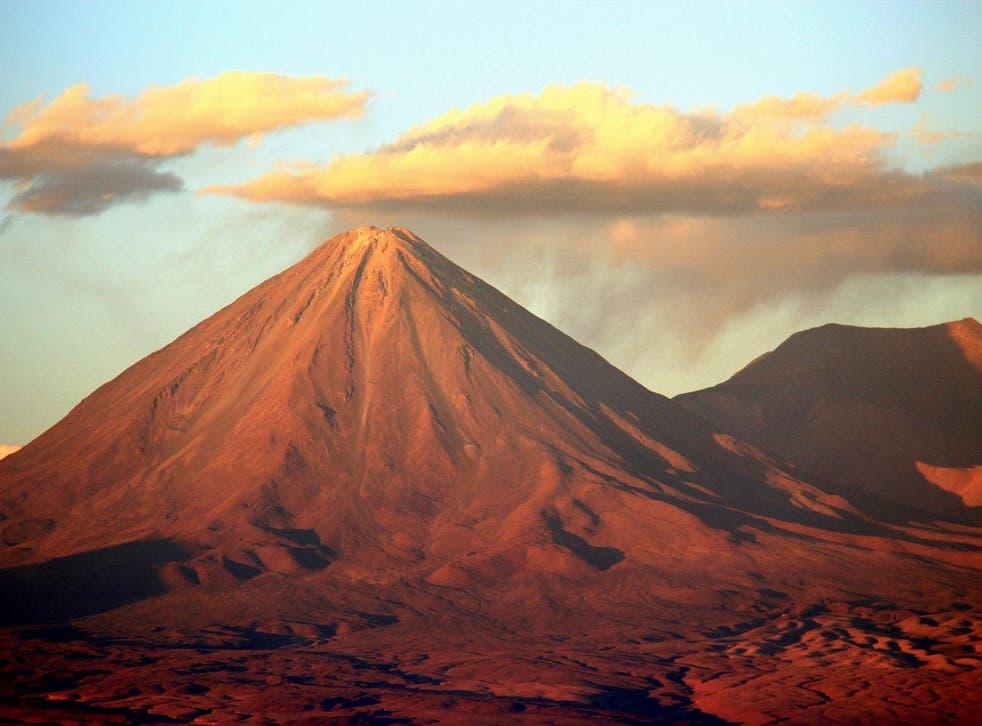 At 2,400 metres above sea level, the Atacama Desert is an unforgiving landscape