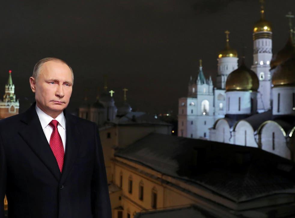 """Fox News host Bill O'Reilly branded Mr Putin """"a killer"""""""