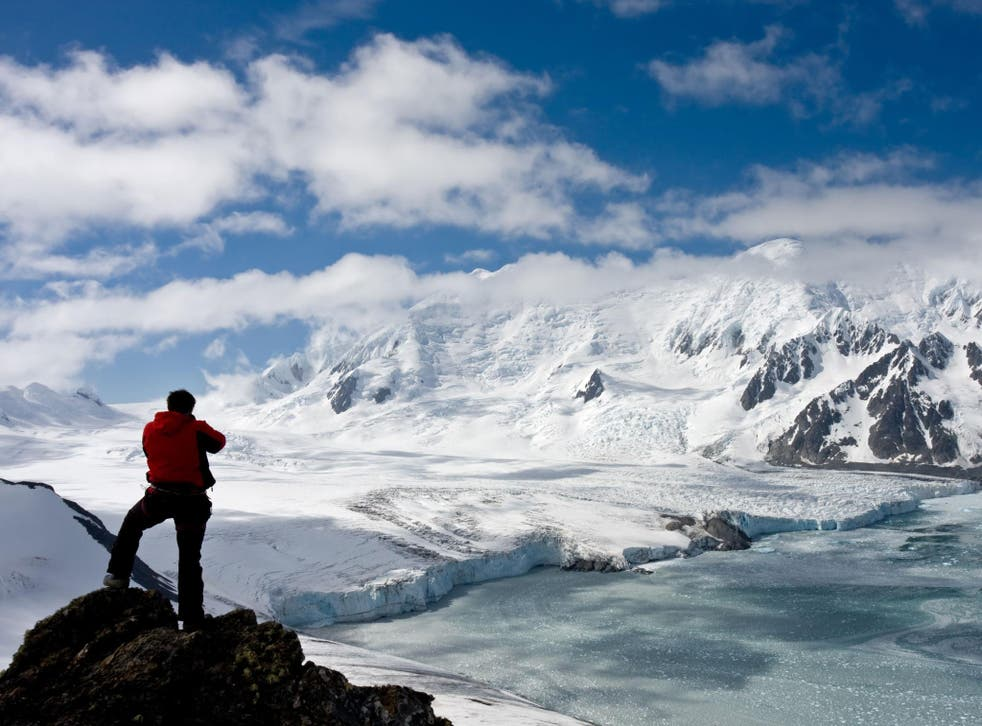 Joel Witwer lived and worked at the McMurdo base for an Antarctic summer