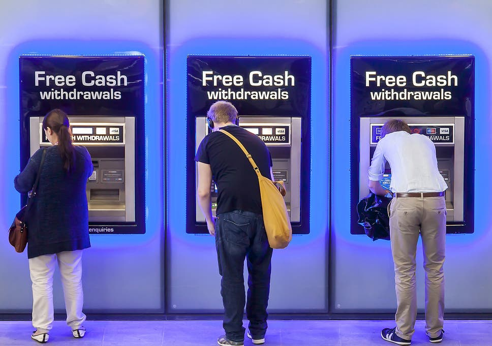 Thousands of free cash machines could disappear under new