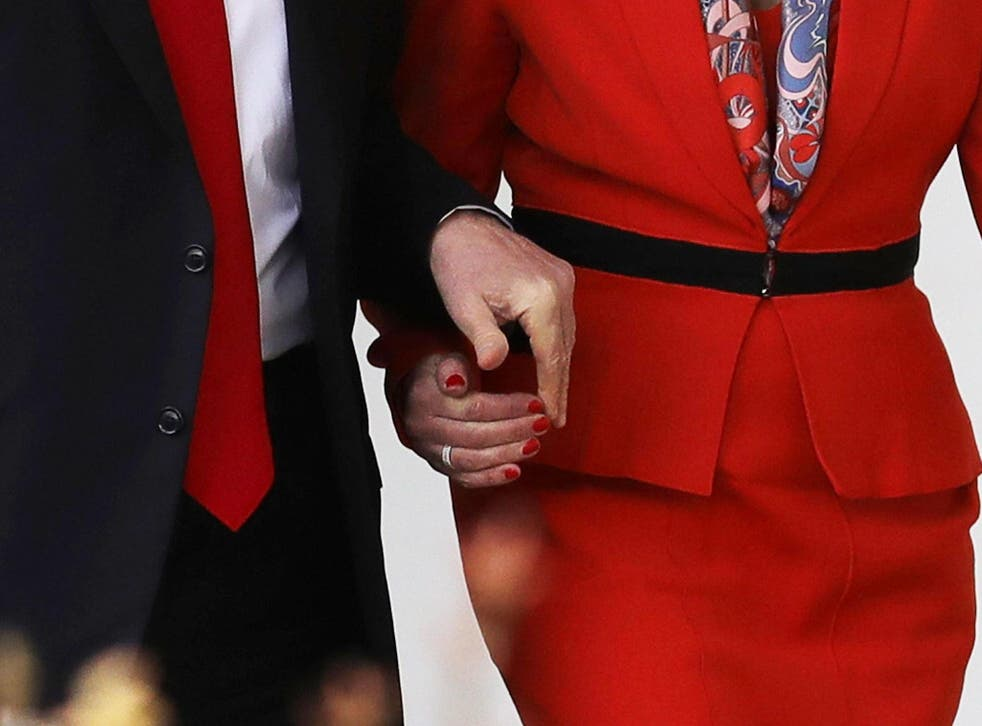 Theresa May was the first world leader to visit Donald Trump