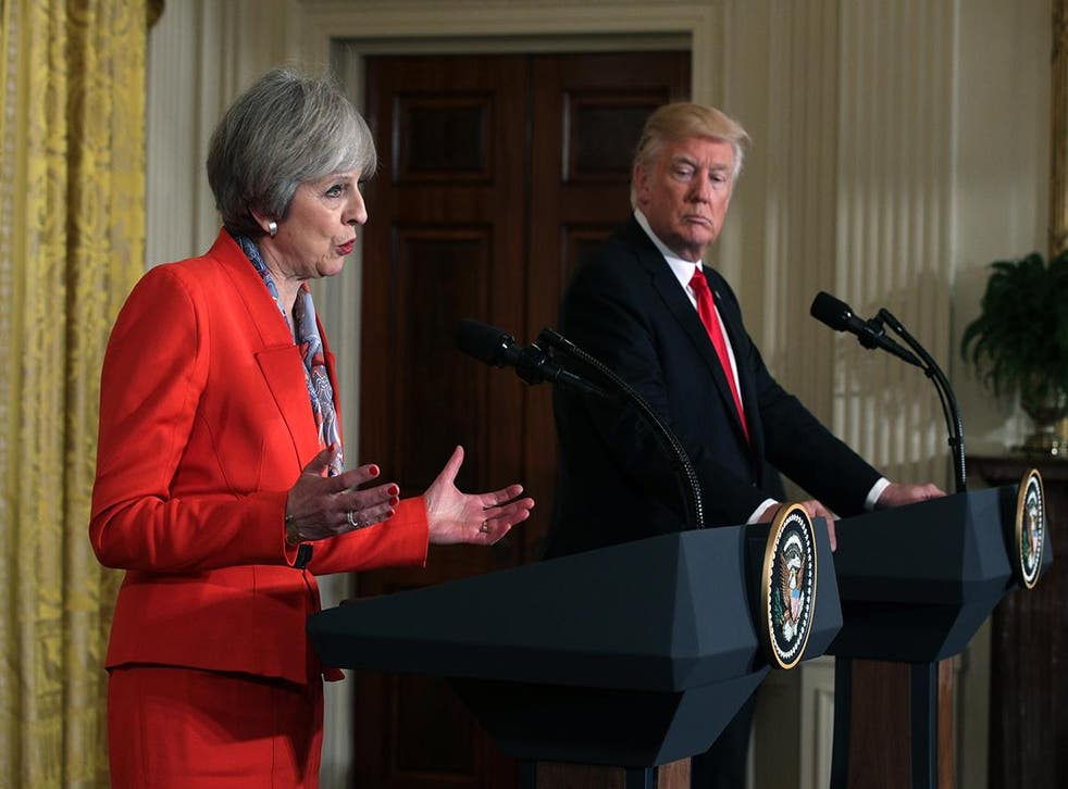 The Prime Minister and the President take questions from the press at the White House