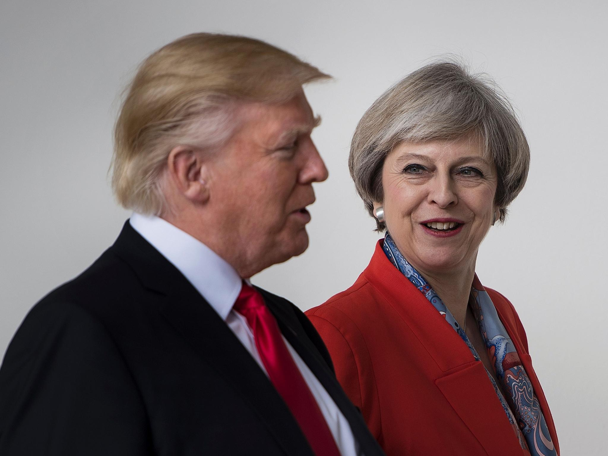 Donald Trump and Theresa May agree immediate talks on post ...