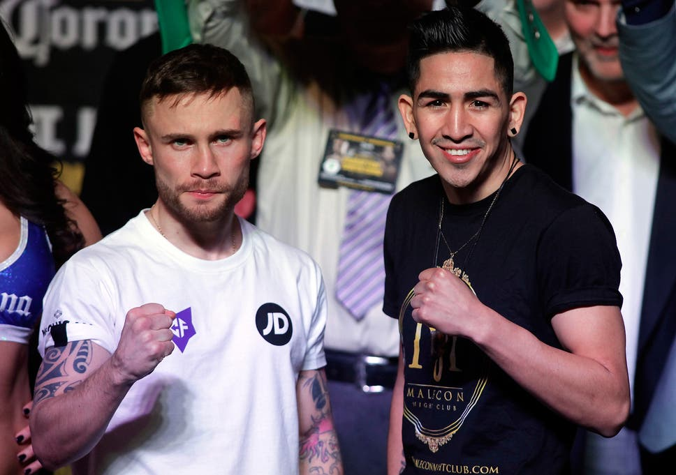 06afbf67 Boxing on TV: Prepare for another classic when Carl Frampton and Leo Santa  Cruz meet again