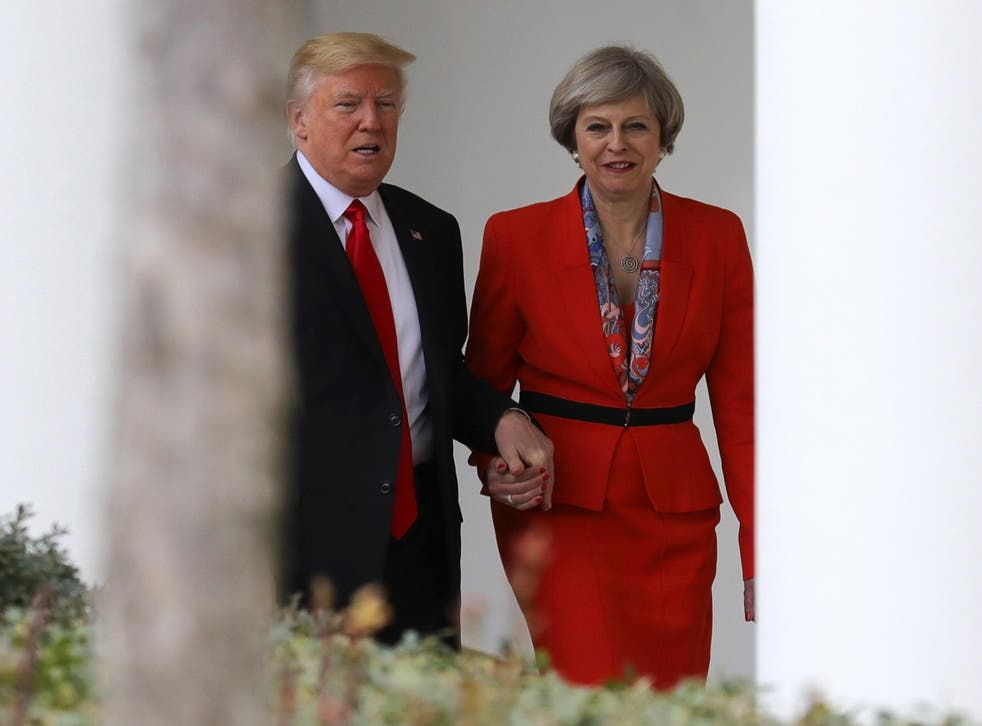 Donald Trump and Theresa May met in Washington last week