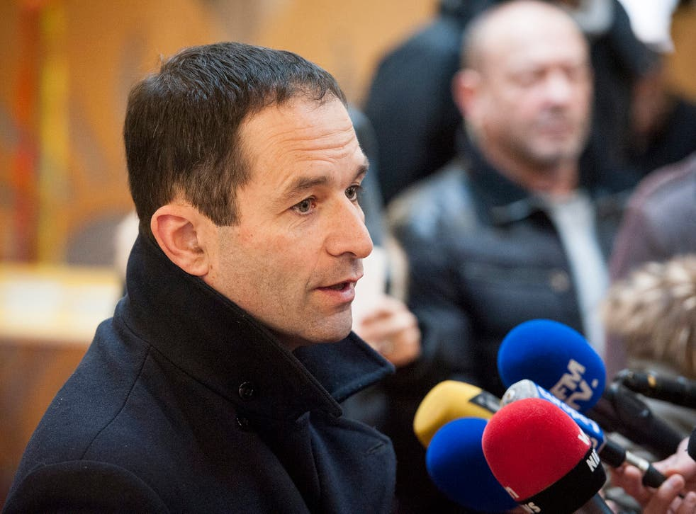 Former education minister Benoit Hamon has won the presidential nomination for France's Socialists