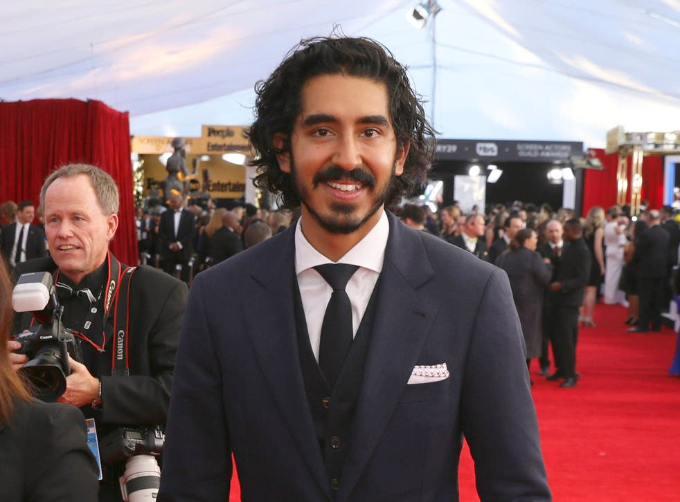 Dev Patel arrives at the 23rd annual Screen Actors Guild Awards at the Shrine Auditorium & Expo Hall on Sunday January 29 2017 in Los Angeles