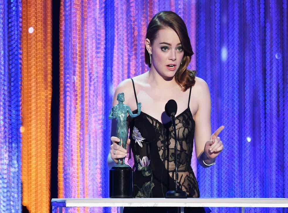 Emma Stone at the SAG Awards 2017