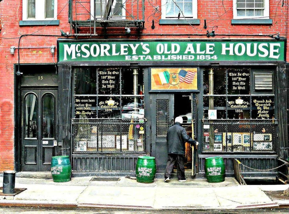 McSorley's, once a men's only bar, finally opened its doors to female patrons in 1970