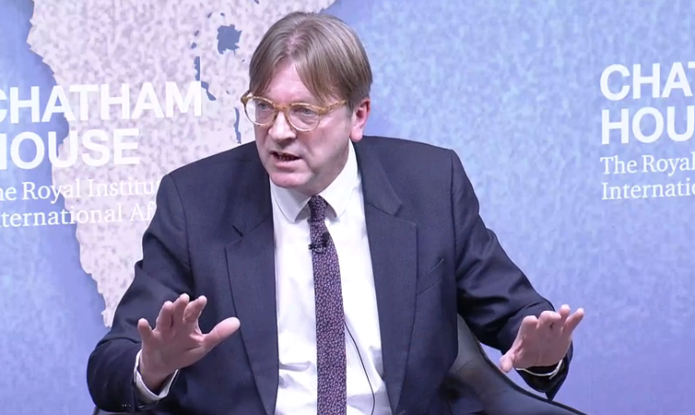 Donald Trump is a threat to the European Union, EU Parliament chief Brexit negotiator Guy Verhofstadt says