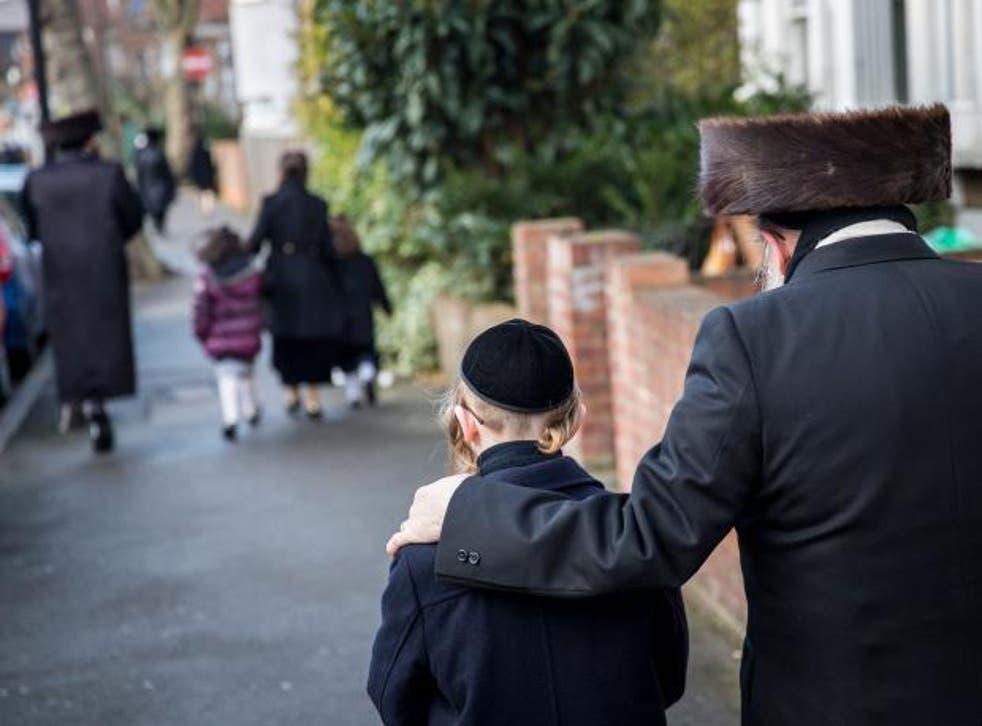 Charedi communities adhere to a strict 19th-century interpretation of Judaism (File photo)
