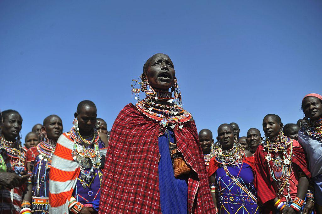 Maasai people of East Africa fighting against cultural appropriation by luxury fashion labels