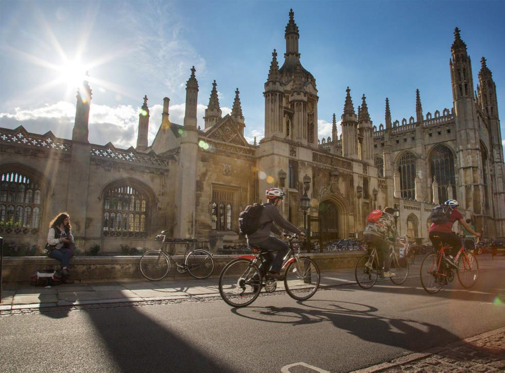 Students at Cambridge have been advised not to wear academic gowns at several points in history, following century-old divisions between 'town and gown'