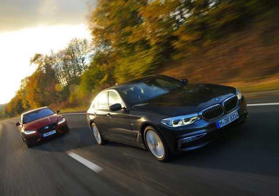How does the BMW 530d match up against the Jaguar XF V6 Diesel