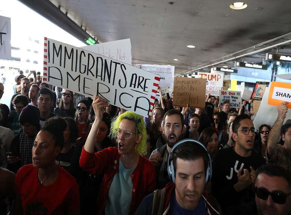 Trump's Muslim ban prompted massive protests around the US