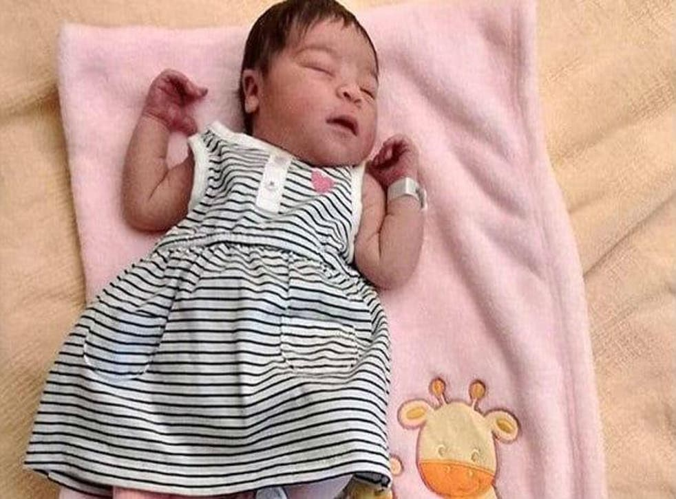 The baby died from starvation several days after her parents fatally overdosed