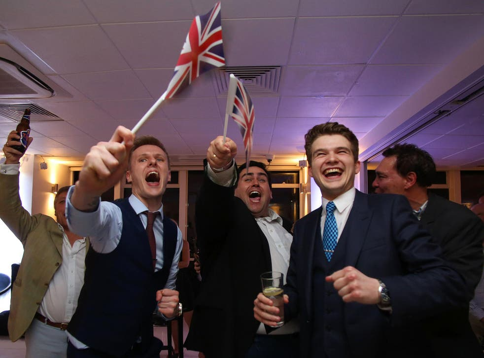 These smiling millennials may be more economically conservative than their predecessors