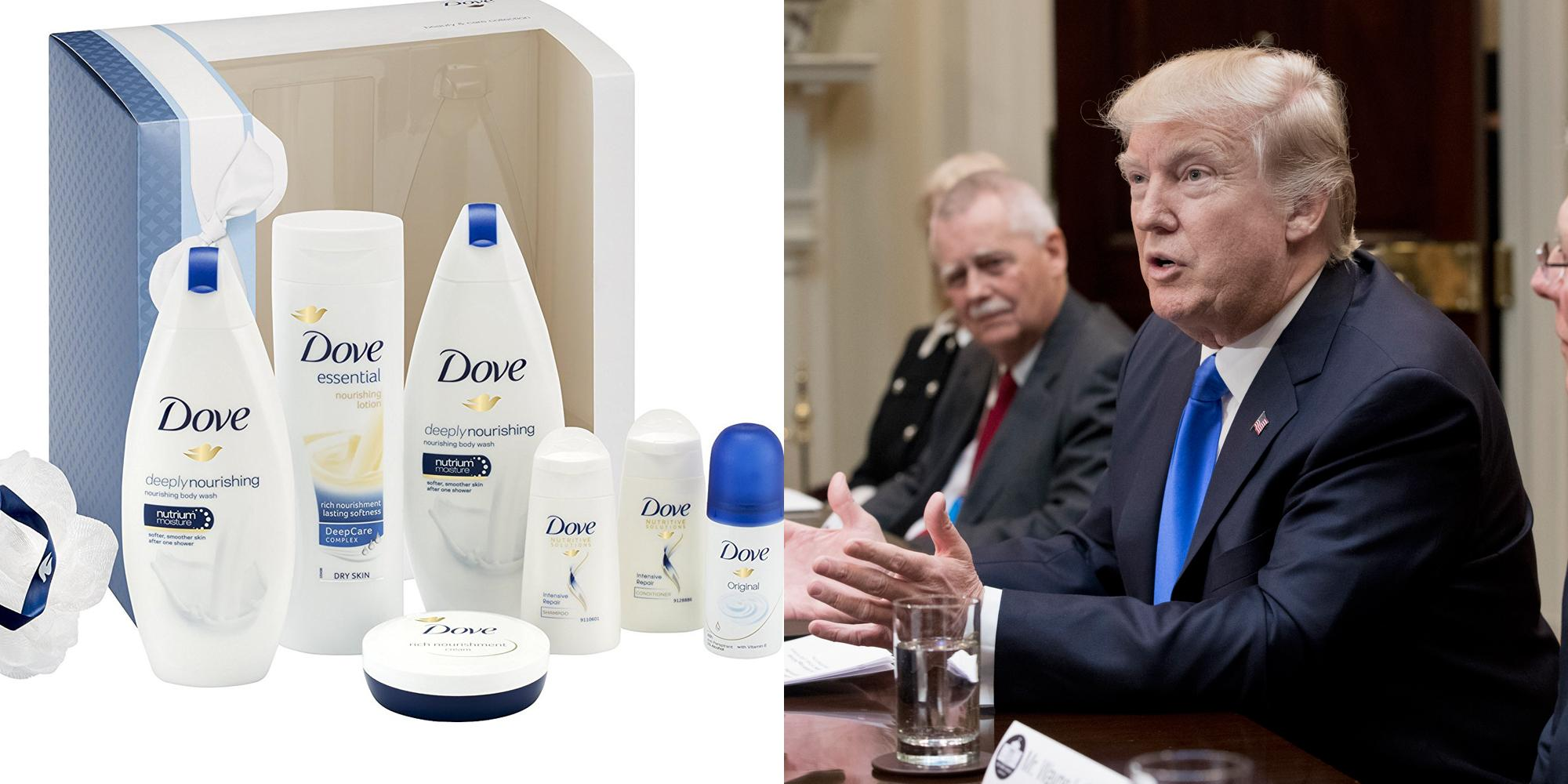 This new Dove antiperspirant advert trolls Donald Trump, and it's perfect