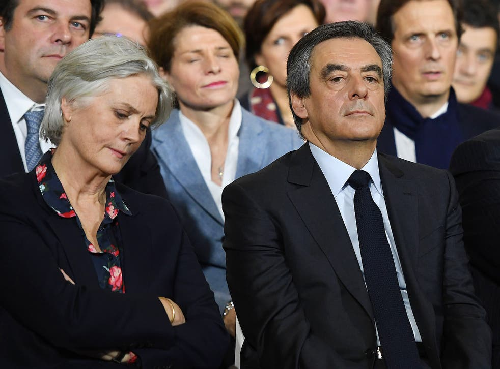 François Fillon and his wife, Penelope, are facing accusations of misusing public funds