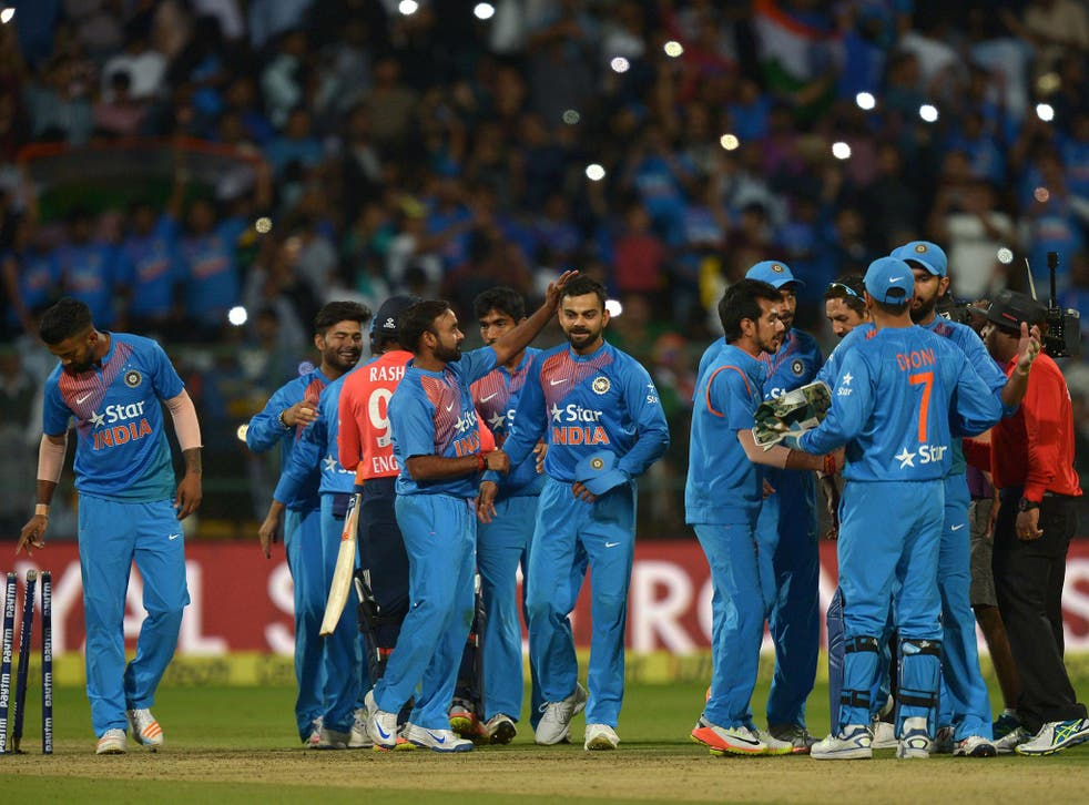 India beat England 2-1 in their T20I series