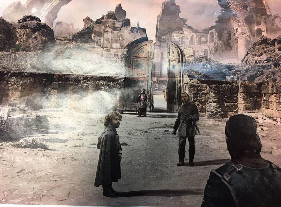 The photo of concept art that was posted
