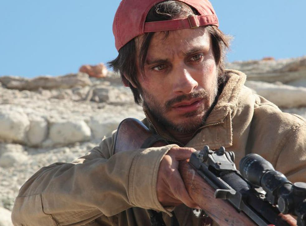Gael Garcia Bernal, playing a Mexican migrant seeking to re-enter the US after deportation, emerges a classic Western hero in Jonas Cuaron's 'Desierto'