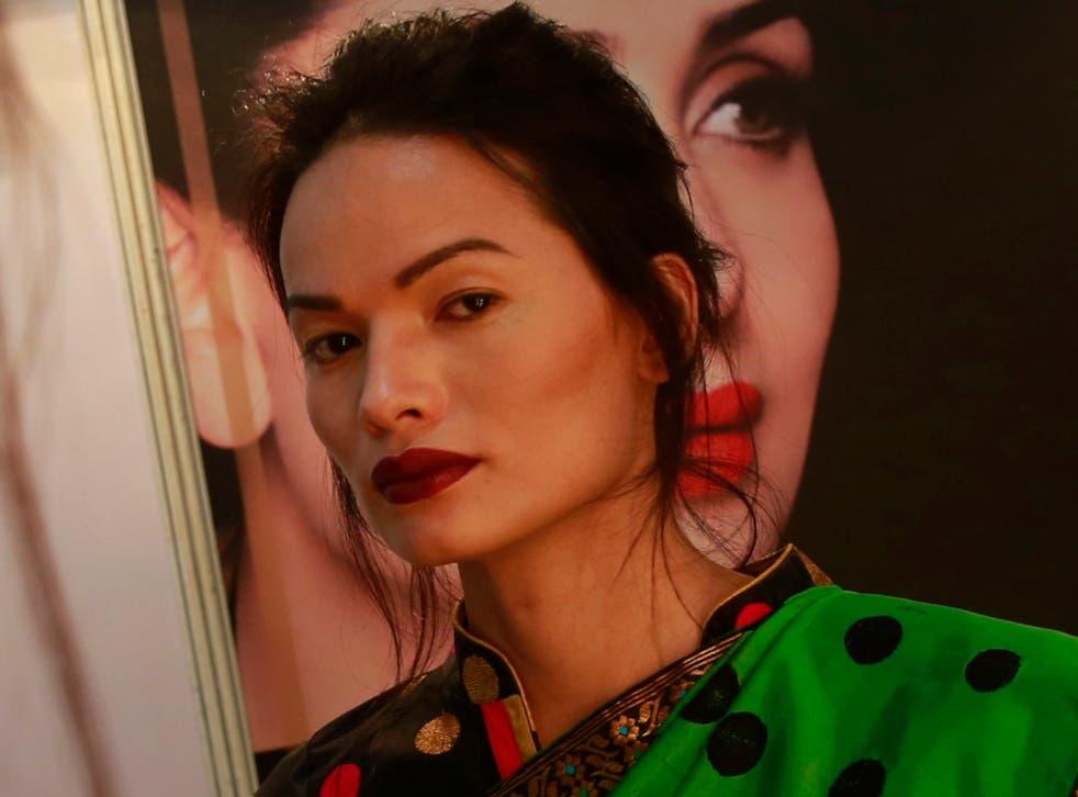 Transgender model Anjali Lama takes Indias Lakmé Fashion