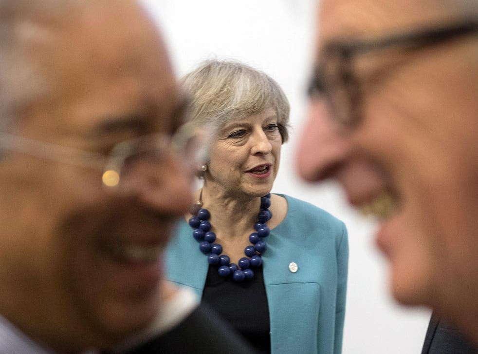 The Prime Minister will not be part of the EU discussions on Brexit at the summit