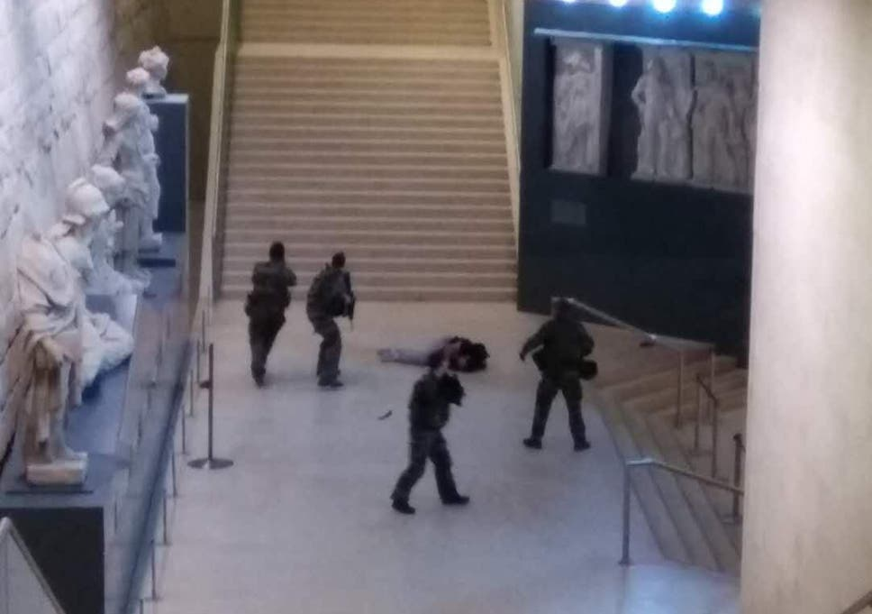 Le Louvre terror attack: Suspect identified as Egyptian Abdullah