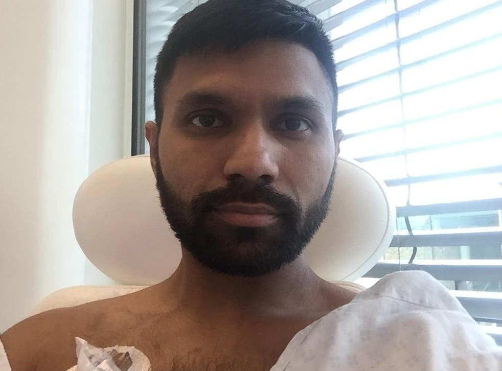 Mo Haque crowdfunded £200,000 for cancer treatment when the NHS was unable to afford experimental drugs