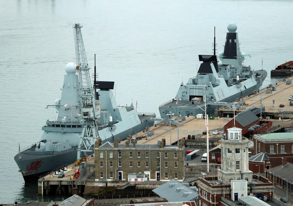 British warships are 'so noisy' Russian submarines can hear them 100