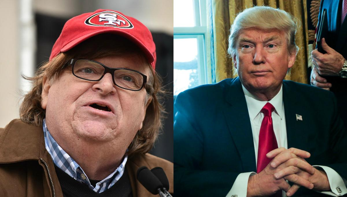 Michael Moore Trolls 'socalled President Trump' Over His Attack On Judge   The Independent