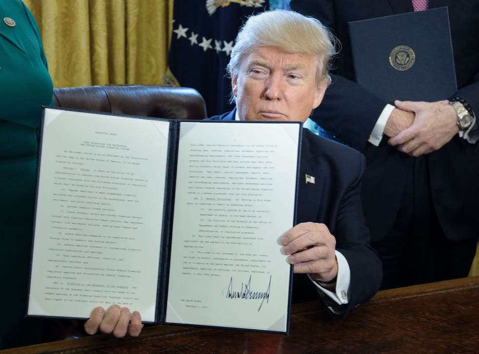 Donald Trump's first executive order could mean millions now face deportation