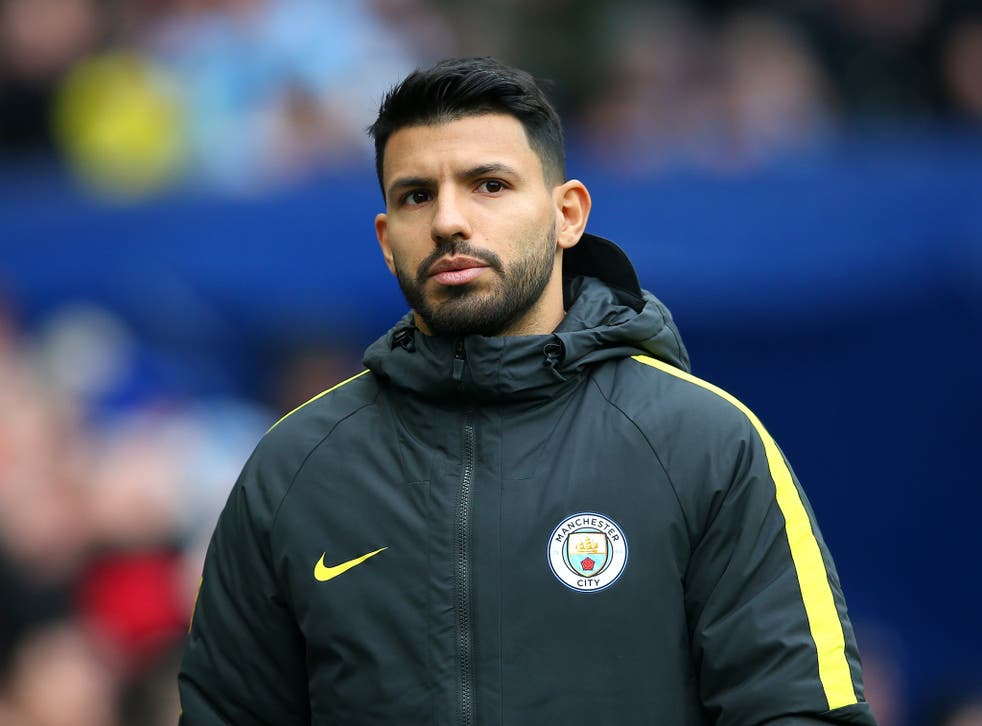 Sergio Aguero was named among the substitutes again for Manchester City's win over Swansea