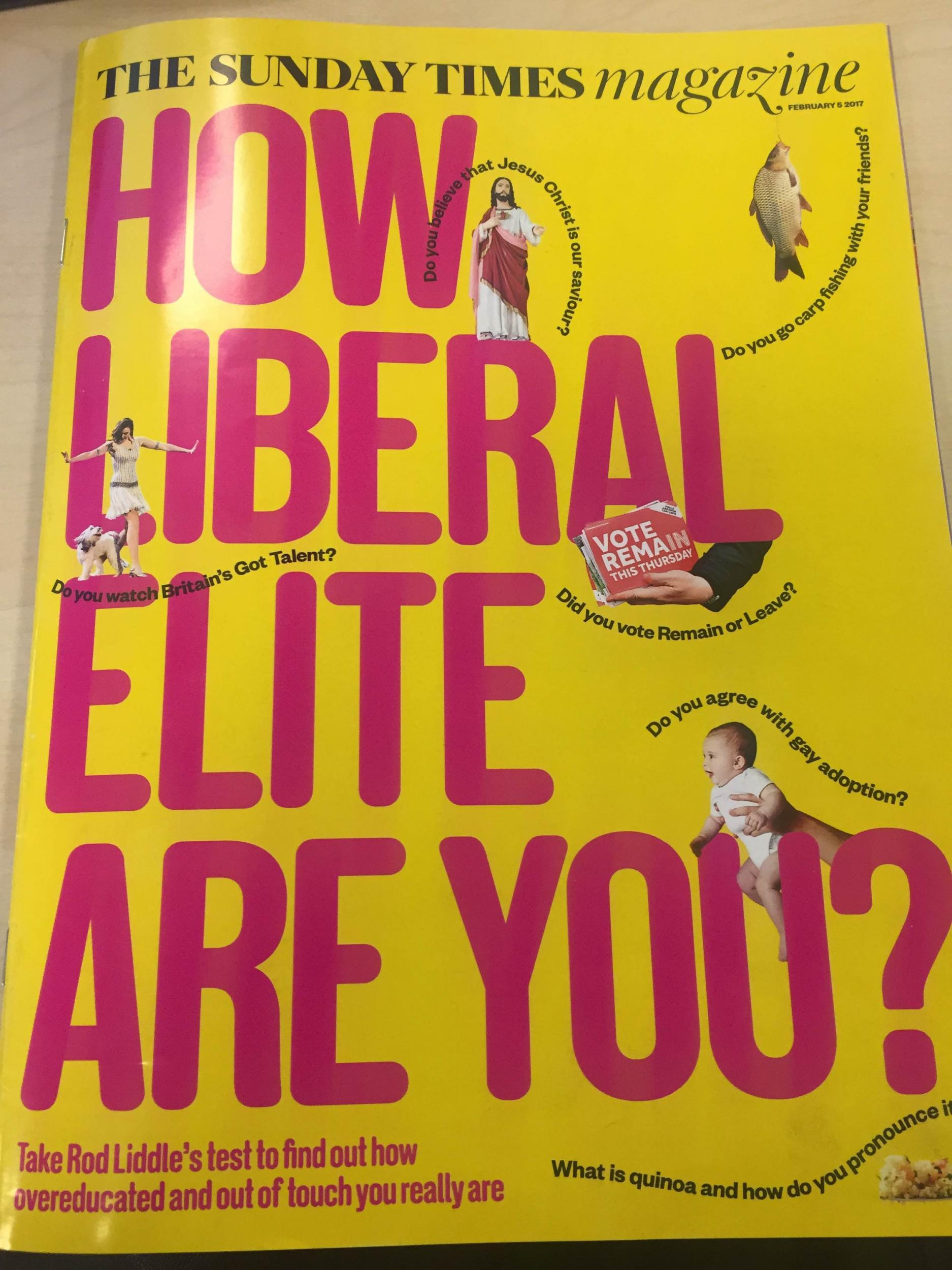 If you can answer these 5 questions correctly Rod Liddle thinks you