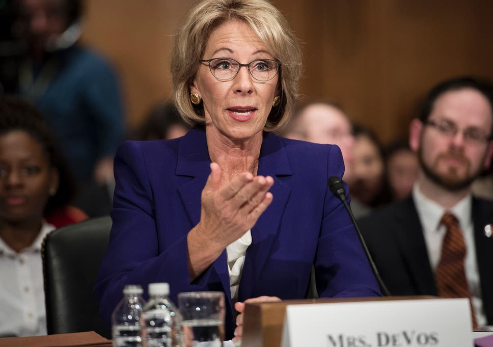 After Devos Vote Fight For Public >> Donald Trump S New Education Secretary Betsy Devos Donated Nearly