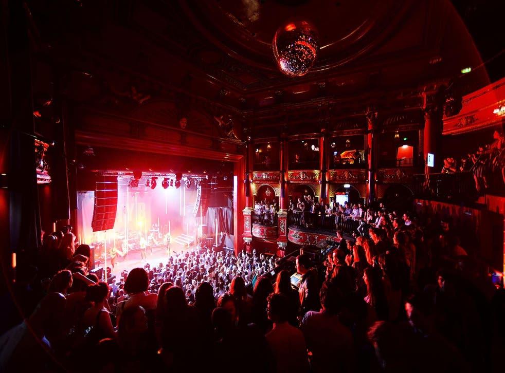 Koko, a populuar live music venue in London