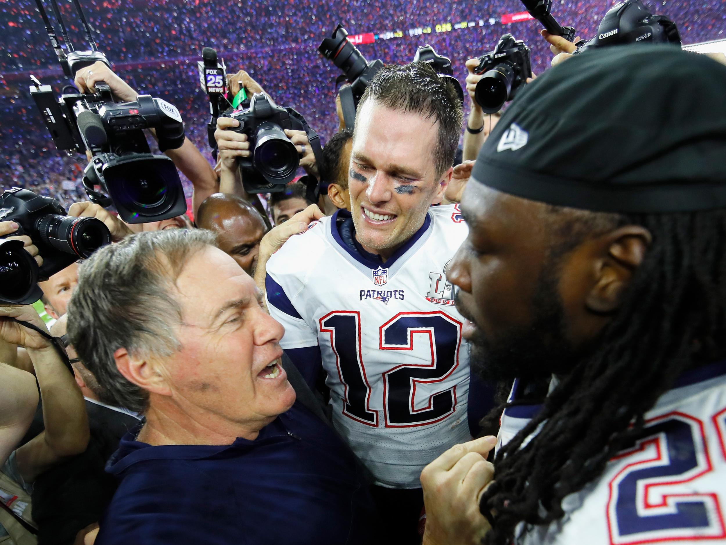 f0b3a57da2ed83 Tom Brady, Bill Belichick, the New England Patriots and Super Bowl 51 have  all secured their places in history