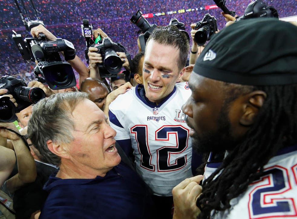 Brady and Belichick won a fifth Super Bowl together