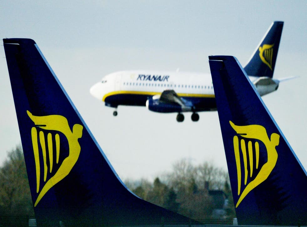 Ryanair's chief financial officer says domestic routes will be reviewed