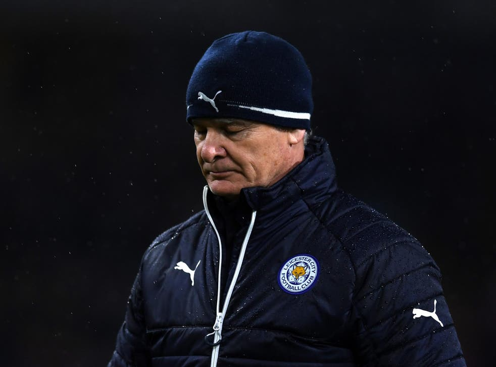 Leicester have turned their back on their title-winning manager