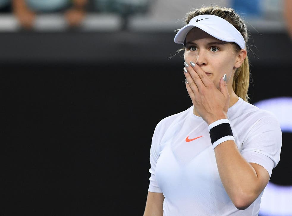 Bouchard insisted she would go ahead with the bet