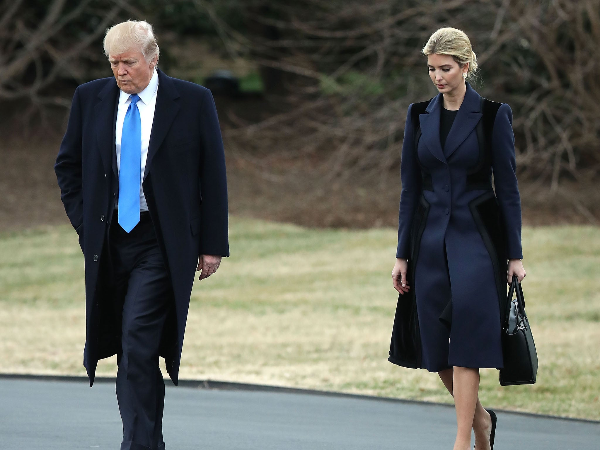 Donald Trump Says Daughter Ivanka Treated So Unfairly By