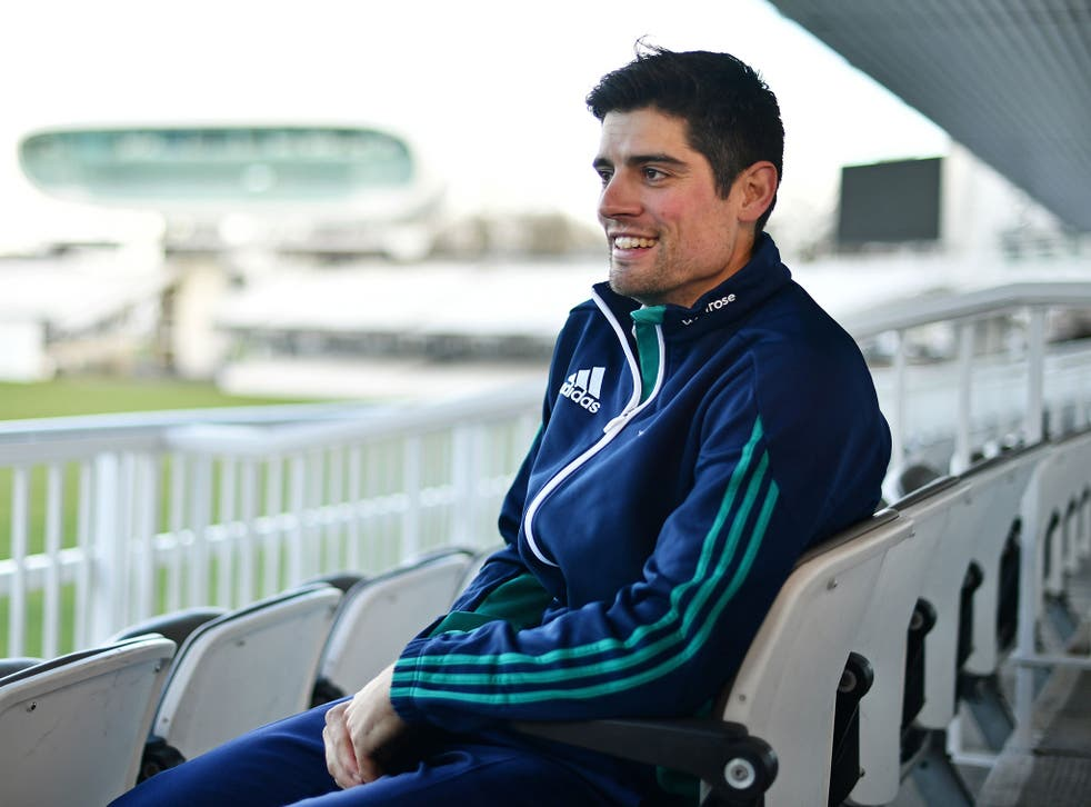 Alastair Cook resigned as England Test captain after taking charge of 59 matches