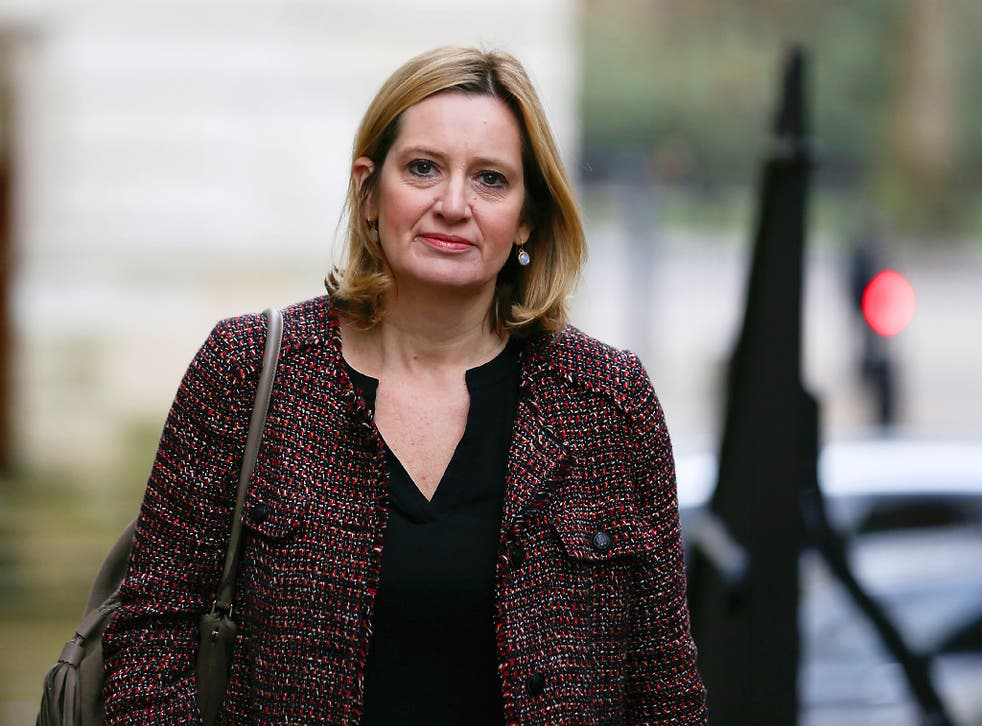 The Home Secretary said she would like to see the industry going 'further and faster in not only removing online terrorist content but stopping it going up in the first place'