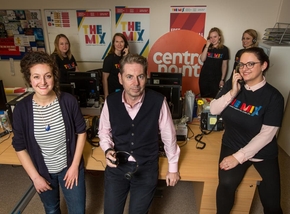 Centrepoint and The Mix are calling for volunteers to help run the Young and Homeless Helpline
