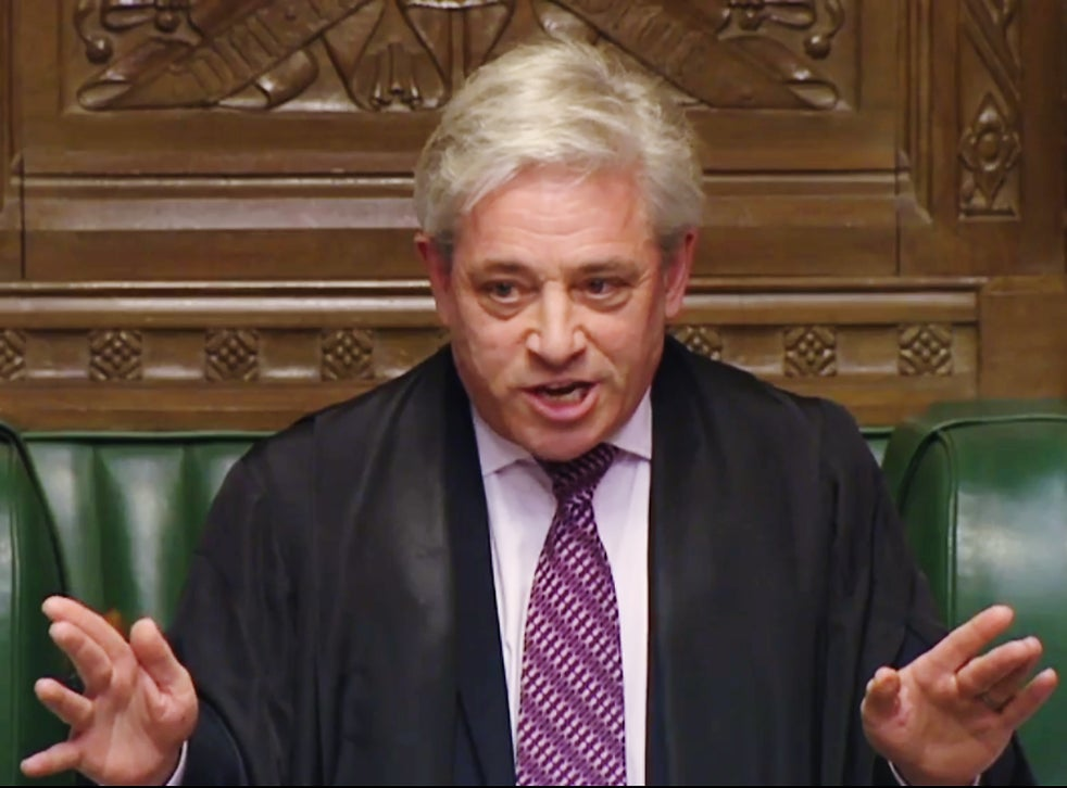 John Bercow Probe Into Commons Speaker Bullying Claims Blocked The Independent The Independent