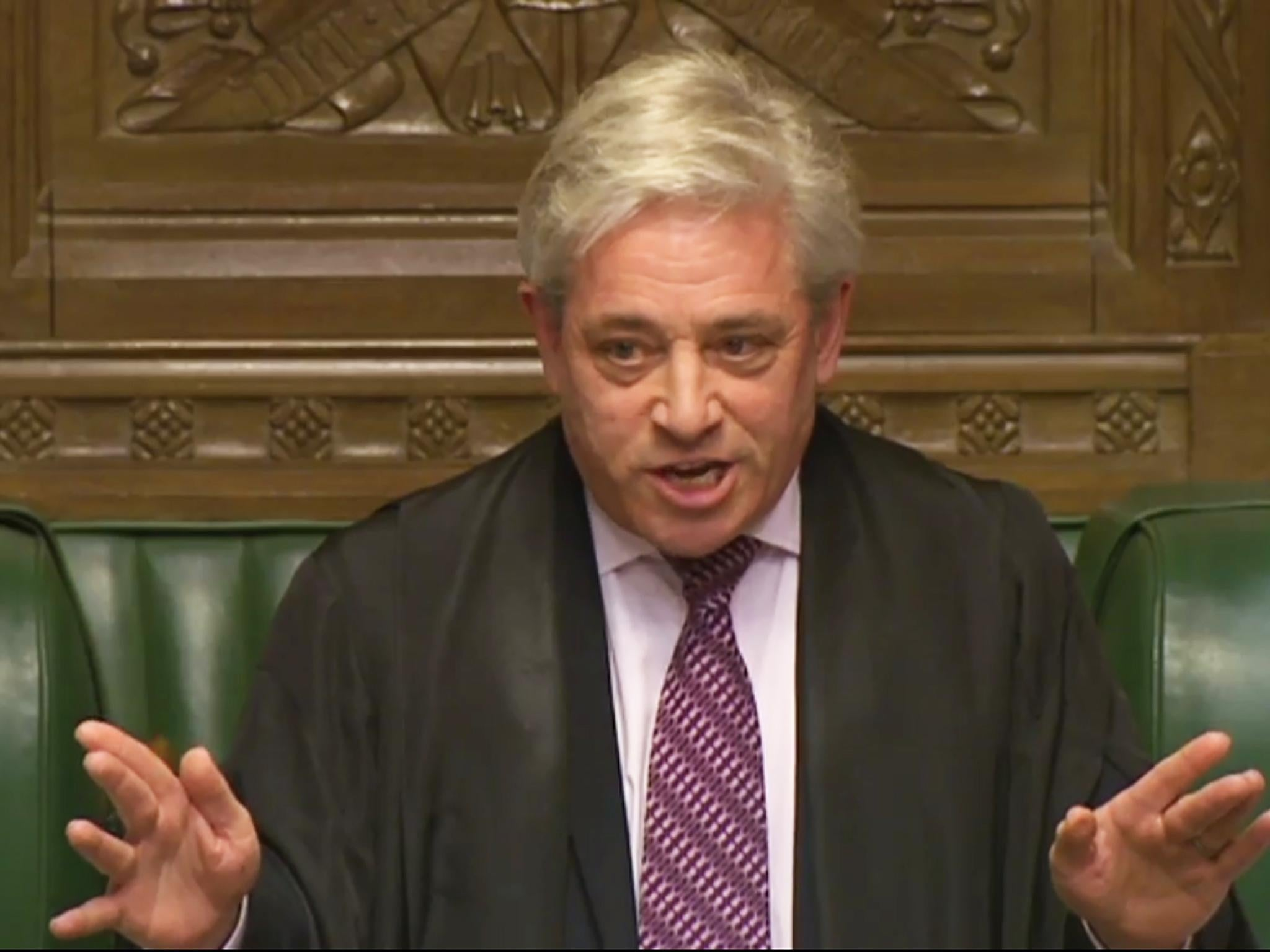 John Bercow: Police assessing allegation of misconduct in public office against Commons speaker